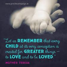Pro Life Quotes Stunning Pro Life Campaign On Twitter Children Deserve To Love And Be Loved