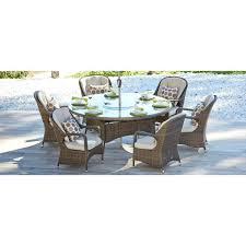 round outdoor dining sets. Perfect Dining Round Patio Dining Set Seats 6 Direct Wicker Chair Brown Seat  Outdoor Mainstays York 7 Piece And Sets