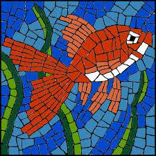 Mosaic Pattern Impressive Free Mosaic Pattern Goldfish