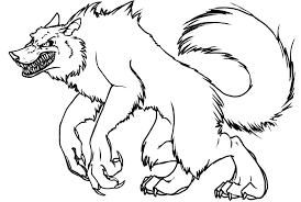 Small Picture Girl Werewolf Coloring Pages Full Size Of Page Wolf vonsurroquen