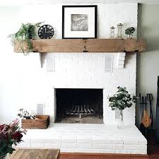 S Living Room With Brick Fireplace Paint Colors  Red