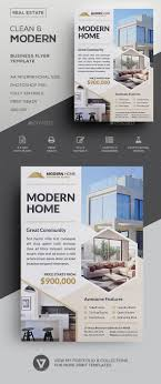 Create Advertising Flyers Real Estate Flyer A Classy And Highly Versatile Real Estate Flyer