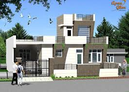 Small Picture 3 bedroom modern simplex 1 floor house design Area 242m2 11m