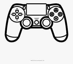 The benefits of coloring pages: For Game Coloring Page Ps4 Controller Coloring Page Free Transparent Clipart Clipartkey
