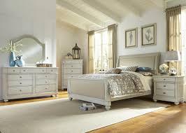 Liberty Furniture Harbor View III 4 Piece Sleigh Bedroom Set in