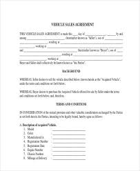 Sale Agreement Forms Free 31 Sales Agreement Forms Pdf