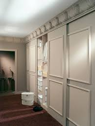 Small Picture Sliding doors like this They slide over in front of the wall
