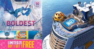 Royal Caribbean is having a limited time 1-for-1 Cruise Promotion at ...