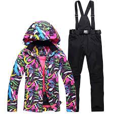 NEW <b>winter</b> Skiing suits Jackets pants <b>women Snowboarding Sets</b> ...
