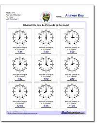 Adding And Subtracting Time Worksheets Metric Conversion Worksheet ...