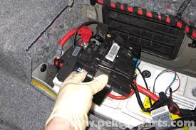 pic10 bmw e90 battery replacement e91, e92, e93 pelican parts diy on e90 2006 bmw motronic wiring diagram