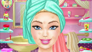 barbie real makeover game makeup games for s style barbies hair and makeup