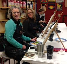 painting with a twist friday january 19 members enjoyed using their artistic talents at this fun social event great job by all who attended