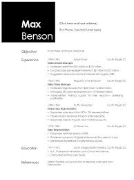 Resume Templates Open Office – Sonicajuegos.com