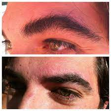 One brazilian wax or one eyebrow wax and tint at cara bella boutique spa (up to 20% off). Brow Waxing For Men Before And After What A Difference Waxing Brows Opens The Eyes Too Chemical Peel Male Grooming Guys Eyebrows