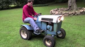 old sears riding lawn mowers. finally uncovering and starting the 1968 sears super 12 tractor - youtube old riding lawn mowers