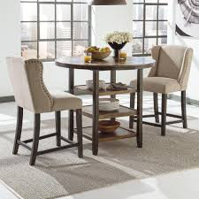 Ashley Furniture Kitchen Table Set Signature Design By Ashley Furniture Moriann 3 Piece Counter Table