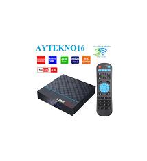 T95MAX PLUS Android 9.0 TV BOX NETFLIX 4GB 64GB amlogic S905X3 8K Video  Player 2.4G