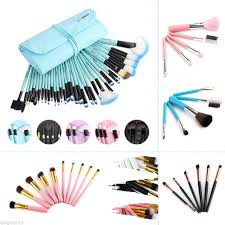 whole gift bag of 10 32pcs makeup brush sets professional cosmetics brushes eyebrow powder foundation middot