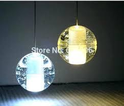 ball chandelier lights glass ball pendant chandelier al light mete large sparkling floating crystal ball pendant