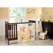 classic winnie the pooh crib bedding set baby nursery area rug image