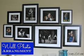 wall photo arrangement 4
