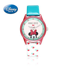 men 39 s mickey mouse watches promotion shop for promotional men fashion girls watch cartoon anime disney watches child girls waterproof wristwatches mickey mouse leather quartz clocks