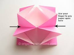 Easy Paper Origami Flower Easy Origami Twisty Rose Folding Instructions