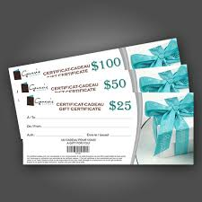 Customized Gift Certificates Gift Certificates