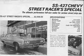 what new car did chevy release in 196821 The List 1968 Chevrolet Biscayne L72 427  Blog  MCG Social