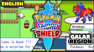 NEW UPDATE! Pokemon Sword & Shield GBA ROM HACK With Galar Region & Gen 8  (English) - YouTube