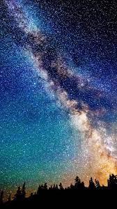 Milky Way Night Sky Stars Scenery 4K ...