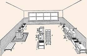 Организация работы овощного цеха Размещение оборудования в овощном цехе