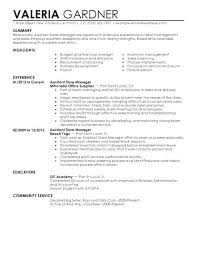 Resume Objective Examples For Retail Resume Objective Examples Assistant Manager Template Luxury Retail
