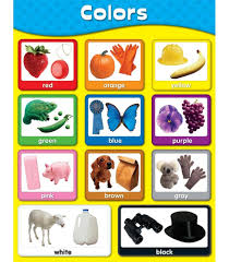 Basic Color Chart For Kids Colors Chart