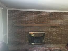 pre whitewashed brick wall