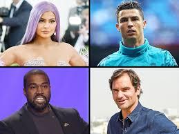 highest paid celebrities of 2020