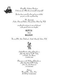 muslim invitation wording Muslim Wedding Invitation Wording Template Muslim Wedding Invitation Wording Template #15 Muslim Wedding Invitation Text