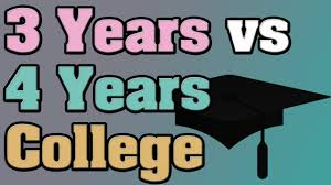 question what is the difference between years college degree question what is the difference between 3 years college degree and 4 college degrees