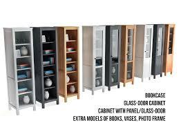 Glass Door Cabinet Model Ikea Bookcase Glass Door Cabinet
