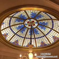 stained and leaded glass domes decorative glass skylights