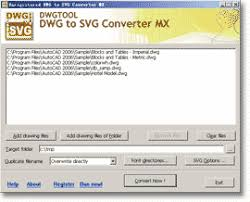 Convert Dwg To Dxf Dwg To Svg Converter 2019 Mx Batch Convert Dwg To Svg Dxf To Svg