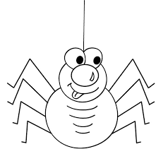 Small Picture Cute spider coloring pages printable ColoringStar