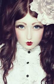 tutorial doe deere azine lime crime makeup beautiful porcelain doll face gl eyes and porcelain skin