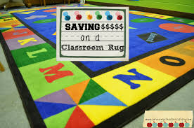 saving money classroom rug