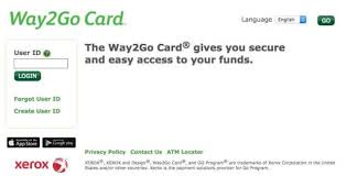The way2go card is not a credit card, but is a debit card, similar to other types of checking or savings accounts debit cards. Way2go Card Routing Number
