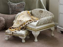 luxury pet furniture. luxury belgravia pet bed and matching stool furniture e