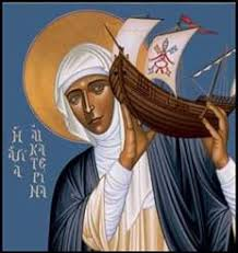 Image result for Images of St. Catherine of siena