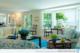blue accent rooms