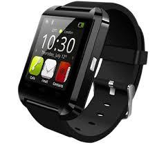 <b>U8 Bluetooth Smart</b> Wrist Watch - Black - Beebizzle UAE